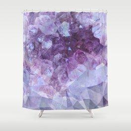 Crystal Gemstone Shower Curtain
