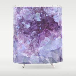 Crystal Gemstone Shower Curtain
