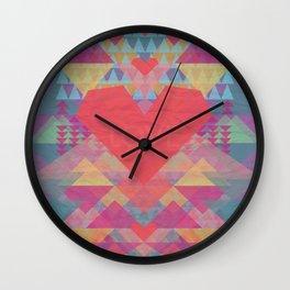 Love Me Lots Wall Clock