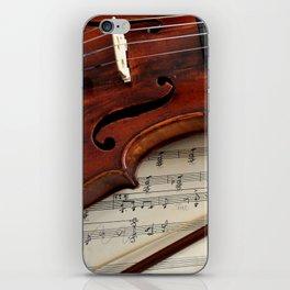 Old violin iPhone Skin