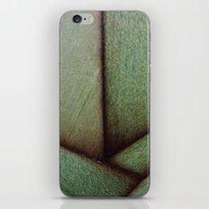 Beautiful Unique maple green wood veneer design iPhone & iPod Skin
