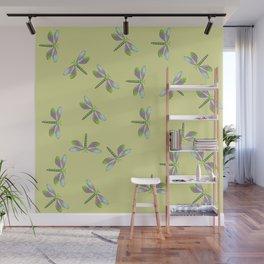 Dragonfly Frenzy Wall Mural