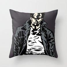 Brooding Throw Pillow