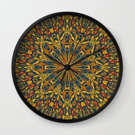 Unique kaleidoscope design Wall Clock