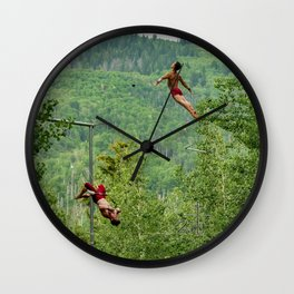 Double Layout  Wall Clock