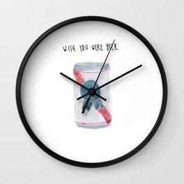 Beer Wall Clock