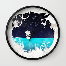Discover the Jungle Wall Clock
