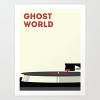 ghost world Art Prints featuring Ghost World by Stereo Unit