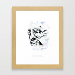 Bone from my Bone Framed Art Print