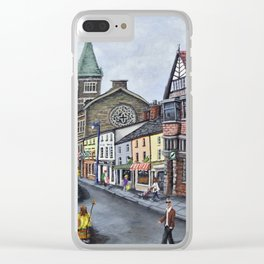 Abergavenny Clear iPhone Case