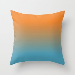 Tropical Nights Throw Pillow