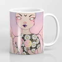 flora Mugs featuring Flora by lOll3