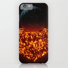 THE CUBE IS LAVA iPhone Case
