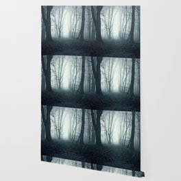 blue forest Wallpaper