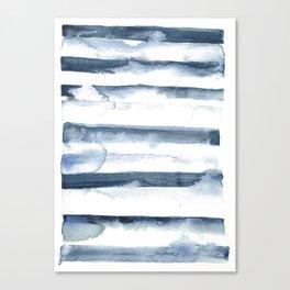 indigo streak Canvas Print