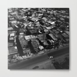 Haiti From Above Metal Print