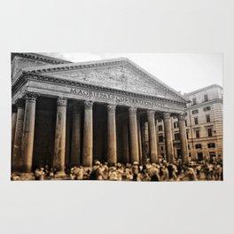 Agrippa built the Pantheon Rug