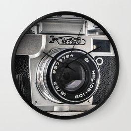 Photographic Camera I Wall Clock