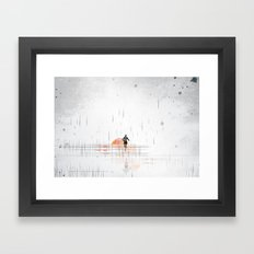 Just Run Framed Art Print