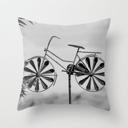 Day 1 of 7 Day B & W Challenge Throw Pillow