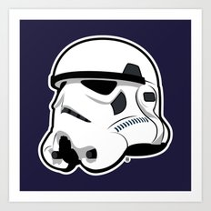Trooper Bucket - Star Wars Art Print