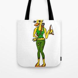 Duck Soldier   Veronica Nagorny Tote Bag