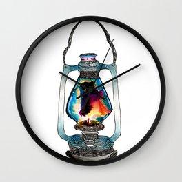 Sark Of The Heart Wall Clock