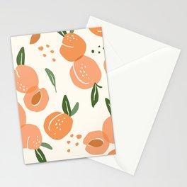 Apricots Pattern Stationery Cards