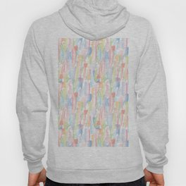 Abstract Brushstrokes - Pastels Hoody