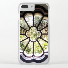 Kowloon Park Window Clear iPhone Case