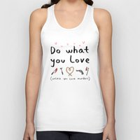 motivational Tank Tops featuring Motivational Poster by Sophie Corrigan