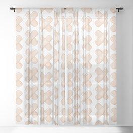 Get Well Bandaid Sheer Curtain