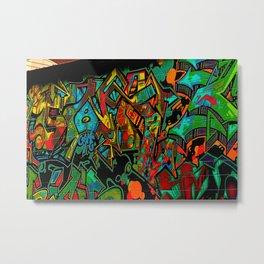 Street Art ATL Metal Print