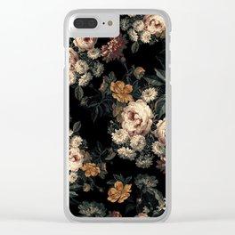Midnight Garden XIV Clear iPhone Case