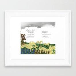 Spread 4 Framed Art Print