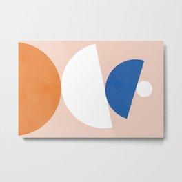 Abstraction_Balance_ROCKS_Minimalism_003 Metal Print