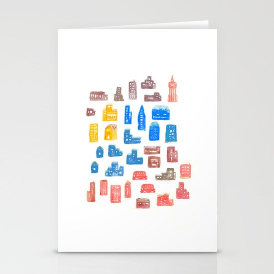Upper Town Stationery Cards