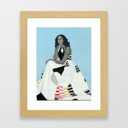 First Lady Michelle Obama Framed Art Print