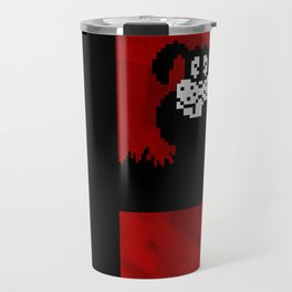 Smash and Laugh (red) Travel Mug