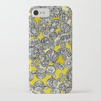 circles iPhone & iPod Cases featuring Circles by Valentina Harper