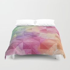 Triangles Pattern Duvet Cover