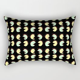 Halloween monsters--scary, haunted, horror,Halloween, l Hallows' Evening,All Saints' Eve,monster,tri Rectangular Pillow