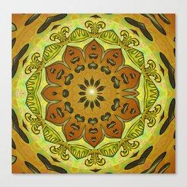 Thrill of Generosity Mandala Canvas Print