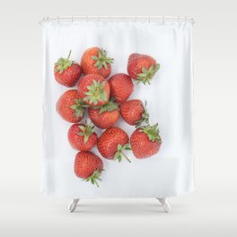Beautiful Food by Frederick Tubiermont Shower Curtain