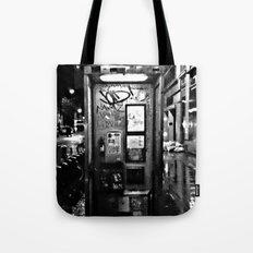 midnite call london Tote Bag