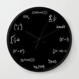 Nerd Clock Wall Clock