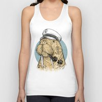 walrus Tank Tops featuring WALRUS by Thiago Bianchini