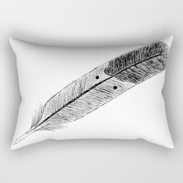 Lost in Flight Rectangular Pillow