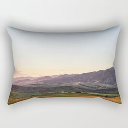 Bridger Range Rectangular Pillow
