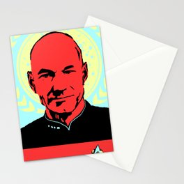 Captain Jean Luc Picard Stationery Cards